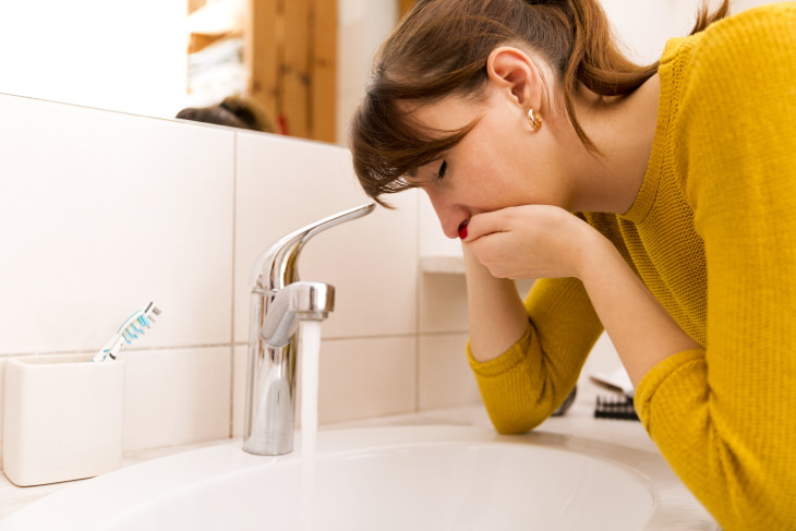 2. Gripe estomacal e intoxicación alimentaria