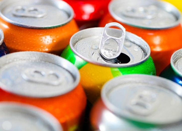6. Reduce el consumo de bebidas carbonatadas