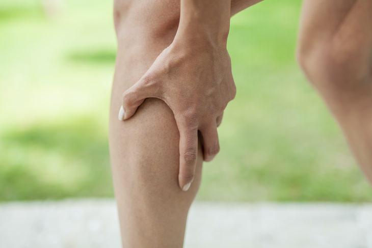 3. Calambres musculares