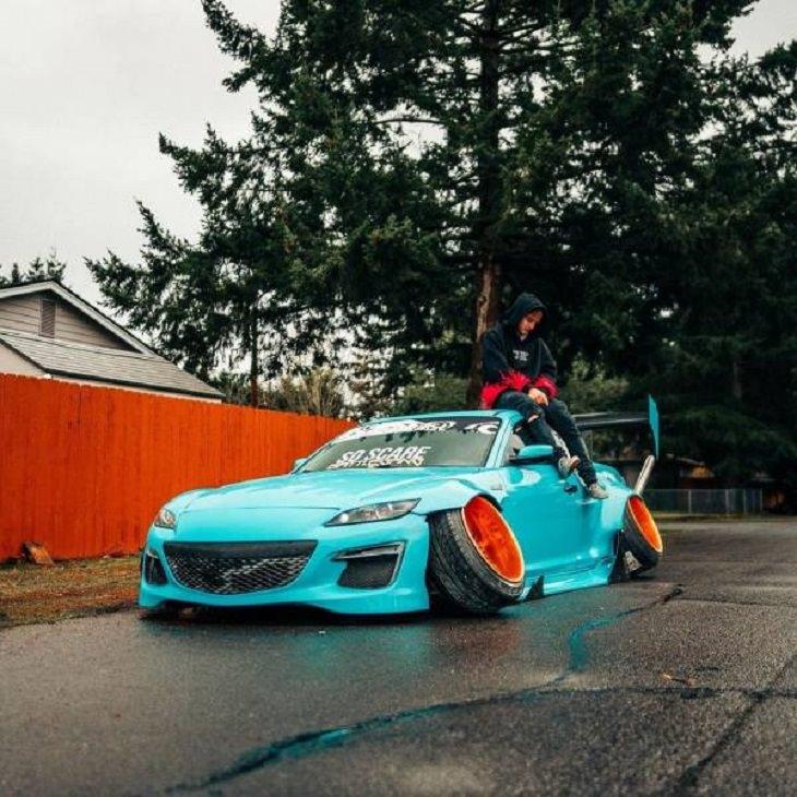 16 Autos Raros Que a Menudo No Ves En Las Carreteras Neumáticos raros