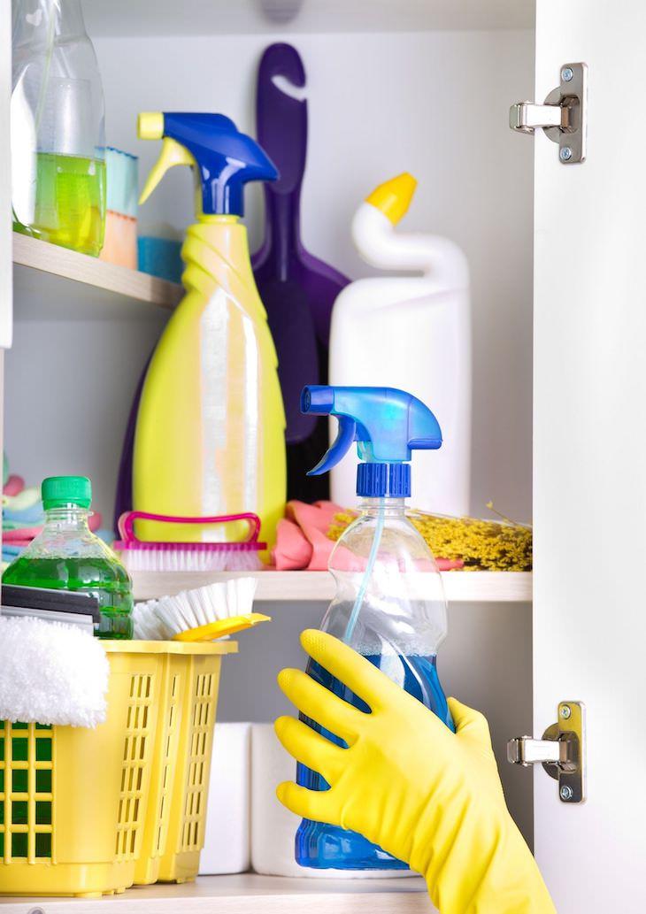 Ideas Para Organizar Tu Clóset De Artículos De Limpieza Clóset de artículos