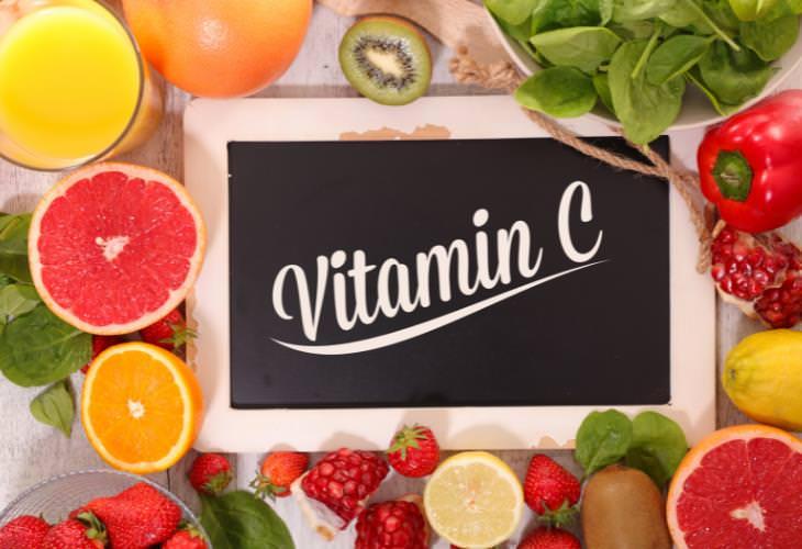 2. Consume alimentos ricos en vitamina C
