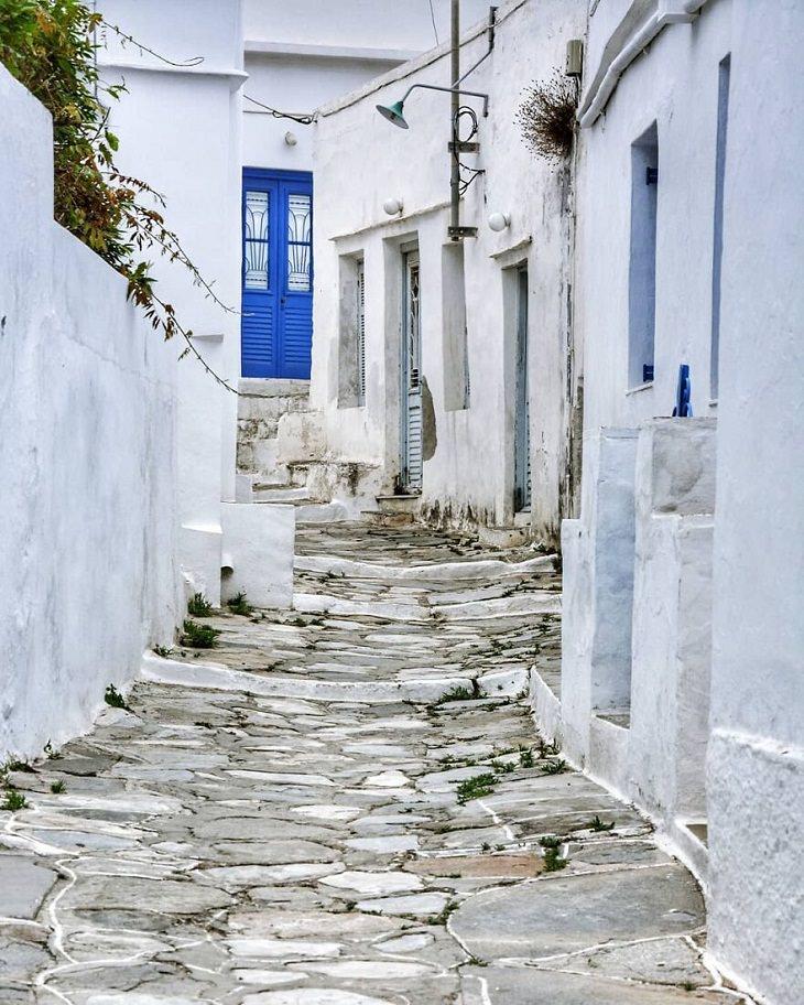 La Belleza Idílica De La Isla De Sifnos En Grecia Callejones