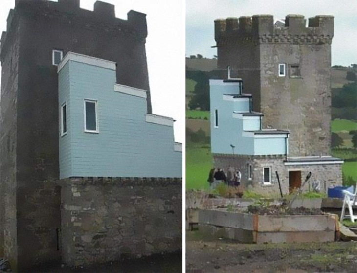 16 Fallos En Diseños De Casas Divertidos Castillo
