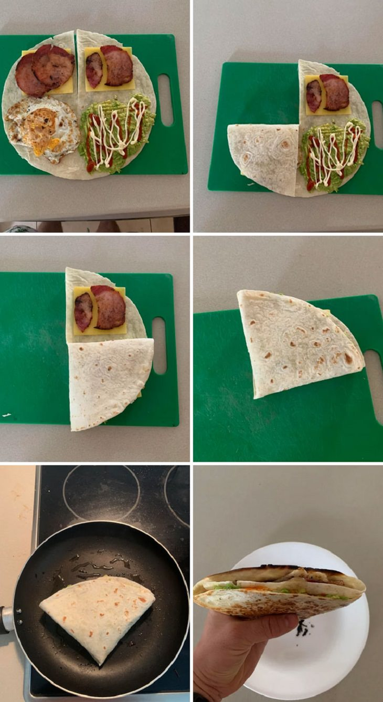 10 Trucos De Cocina Tortilla envuelta