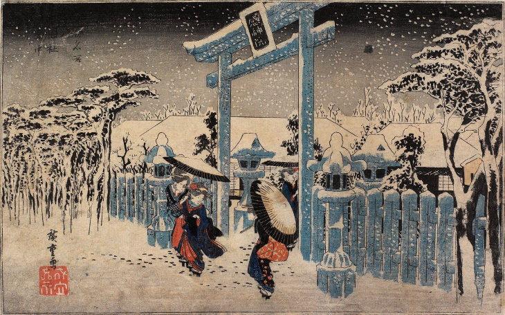 Hiroshige Puedes Descargar Gratis El Arte De Este Artista Japonés