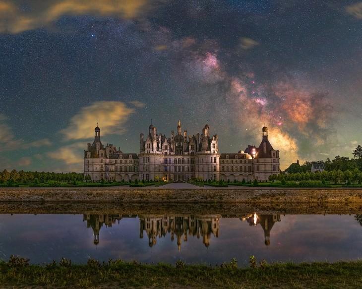 Finalistas Del Concurso De Fotografía De Astronomía Del Año Château de Chambord, por Benjamin Barakat del Reino Unido