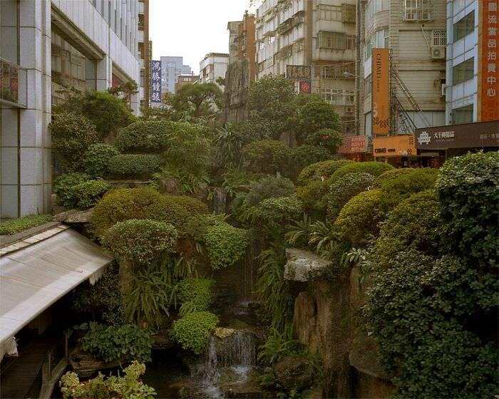 Impresionantes Paisajes Urbanos Una jungla urbana en Taipei, Taiwán