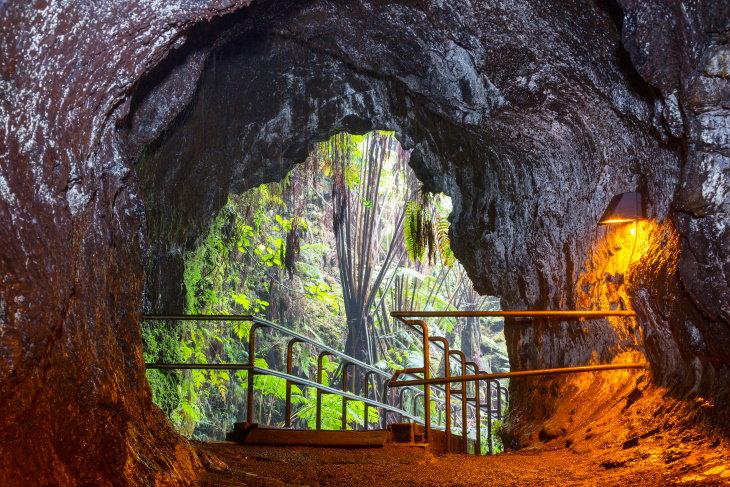 15 Parques Nacionales De Fama Mundial Parque Nacional de los Volcanes de Hawái, Isla de Hawái (la Isla Grande)