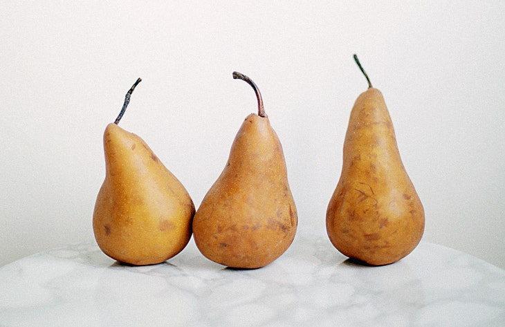 10. Manzanas y peras