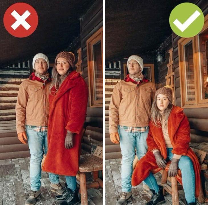 Consejos Para Lucir Espectacular En Todas Tus Fotos  Foto de grupo, haz que algunas personas se pongan de pie