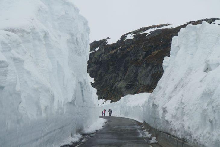 1. Un día de primavera cualquiera en Noruega