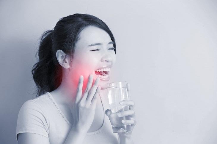 1. Tienes dientes sensibles