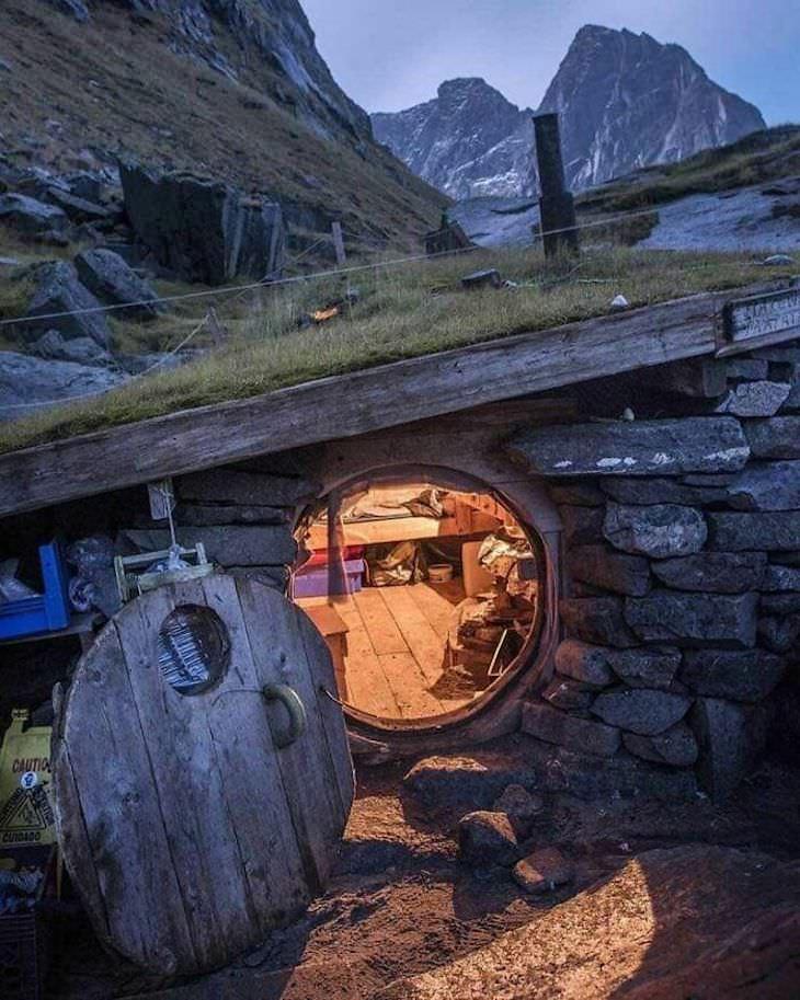25 Cabañas En El Bosque De Todo El Mundo Cabaña ubicada en una playa en el norte de Noruega