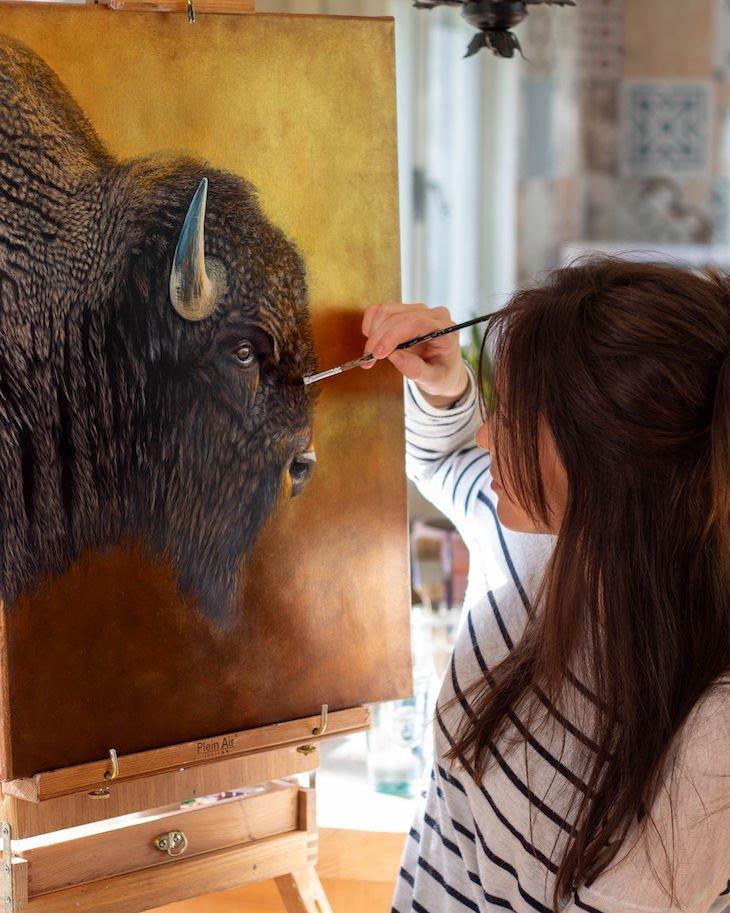 Retratos De Animales Por Sophie Green