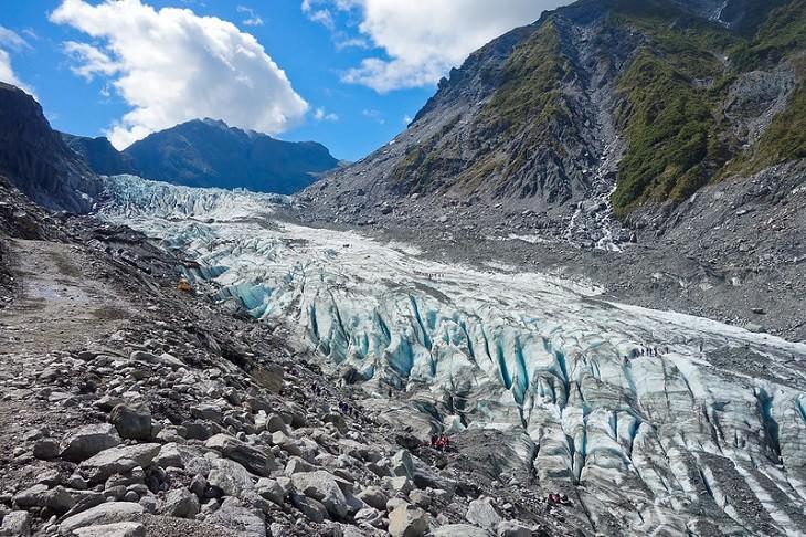 15 Sitios Naturales Maravillosos Glaciar Fox Nueva Zelanda
