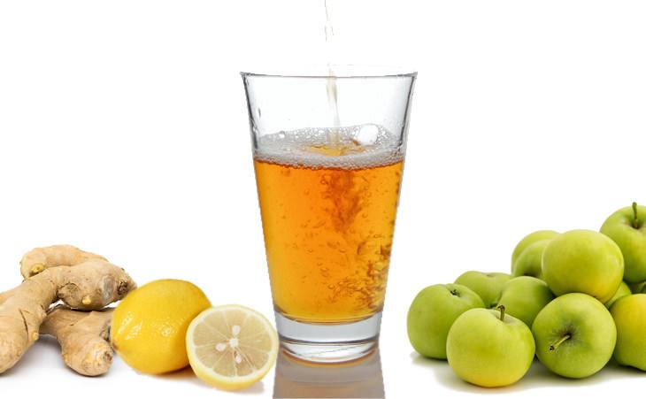 Una Bebida Desintoxicante De Cuatro Ingredientes Infusión