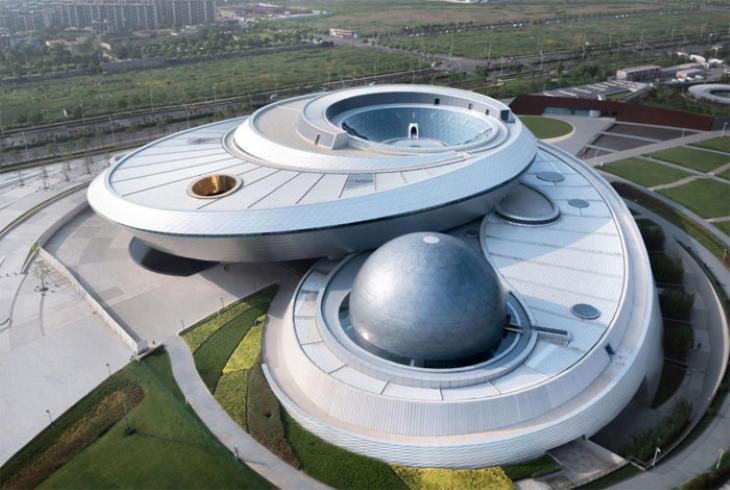 Museos Con Diseños Arquitectónicos Inusuales Museo de Astronomía de Shanghai, China