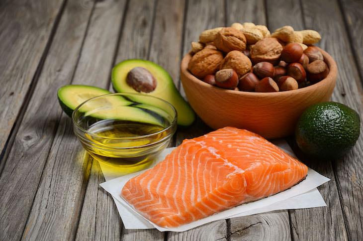 7. Consume tipos de grasas saludables