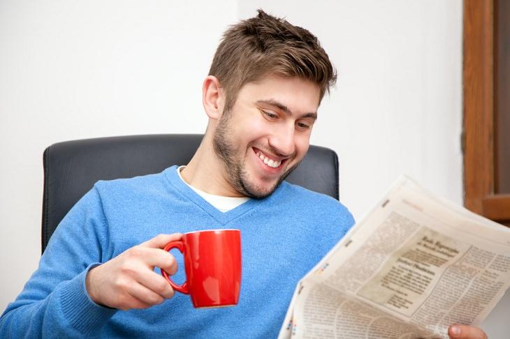 2. Busca buenas noticias al menos una vez al día.
