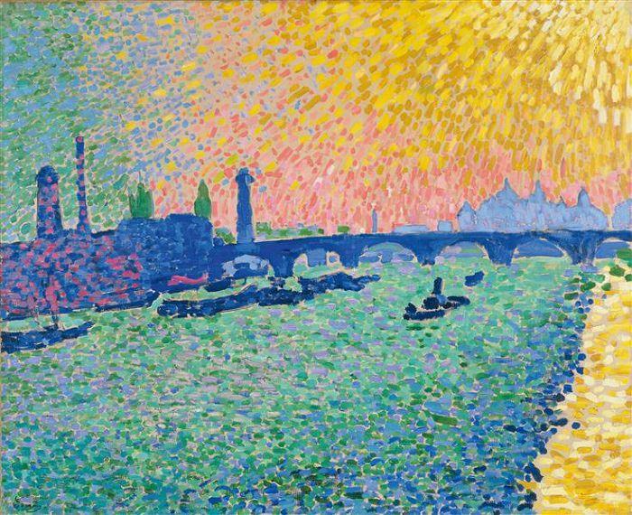 Obras De Arte De André Derain Puente de Waterloo, 1906