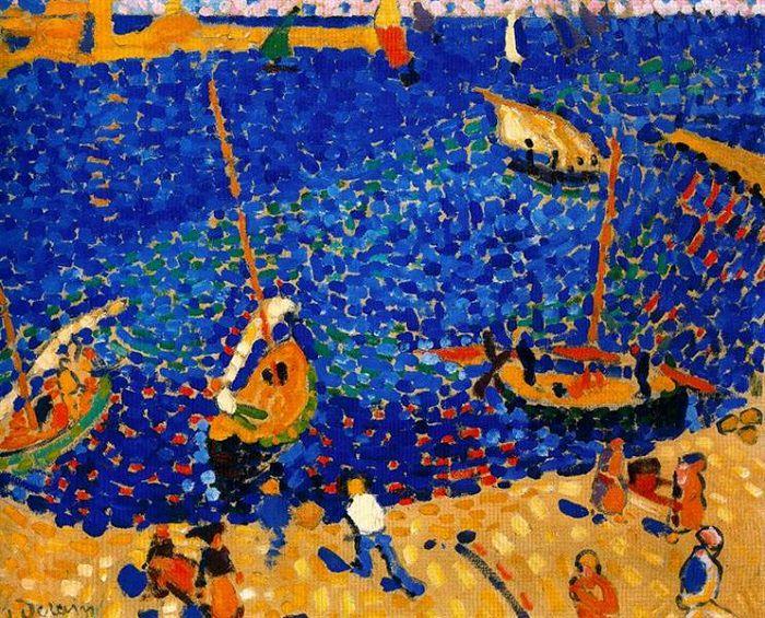 Obras De Arte De André Derain Barcos en Collioure, 1905