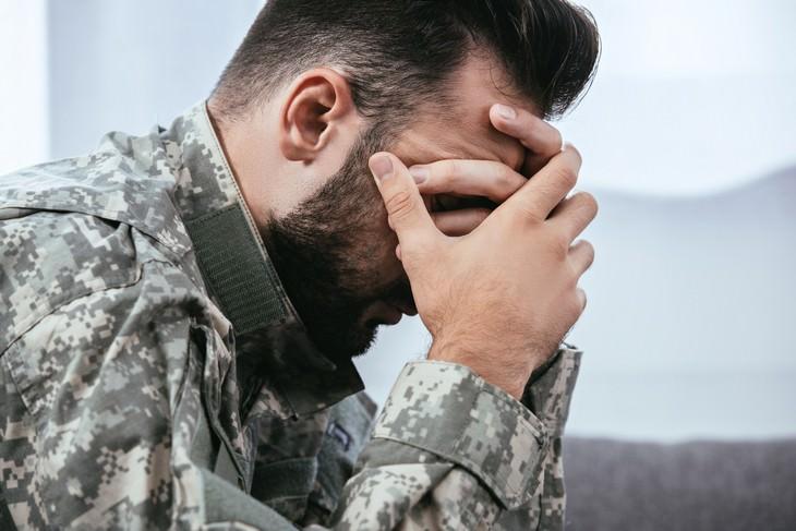 Estudio Revela La Causa Fisiológica Del Estrés Crónico Soldado