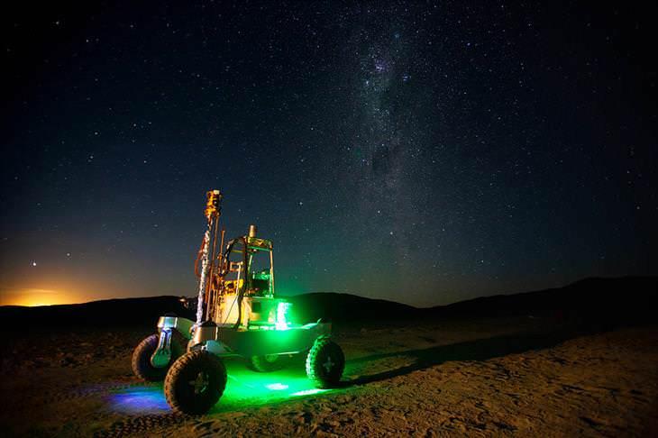 Colección De Fotos De La NASA El Rover ARADS