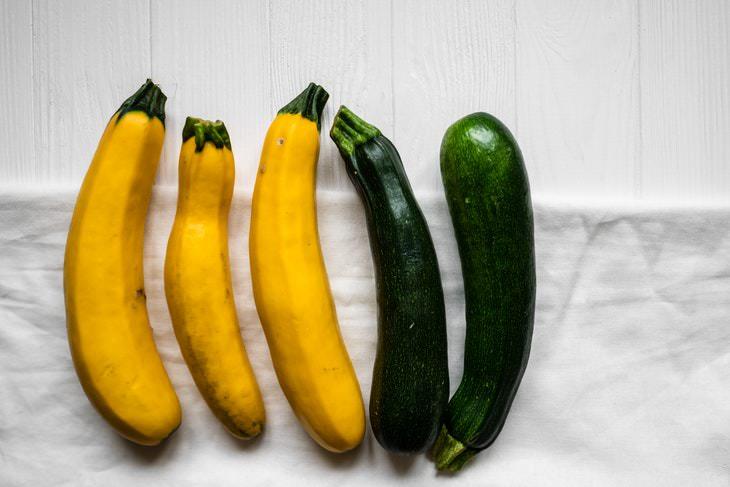 9 Verduras Para Perder Peso Calabacín o zapallo