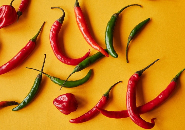 9 Verduras Para Perder Peso Ají picante