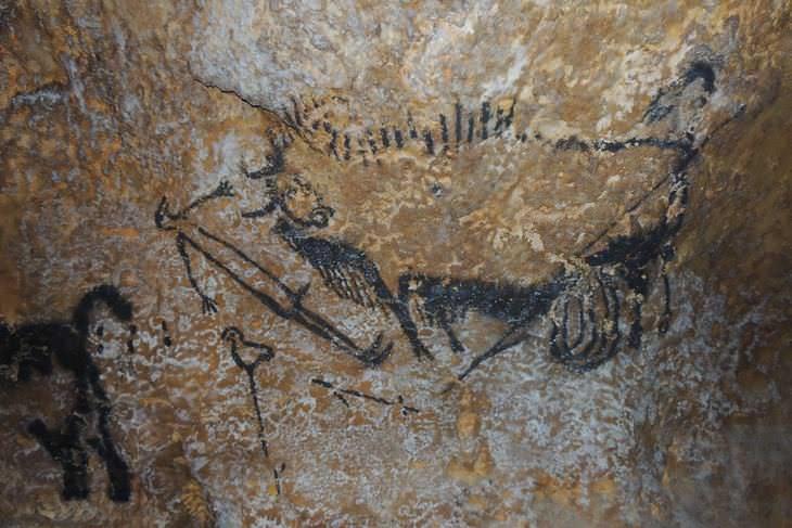 Los Seres Humanos Conocían De Astronomía Desde Hace 40,000 Años Pintura rupestre