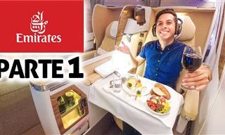 Viajando De México a Dubái En Un Avión De Lujo