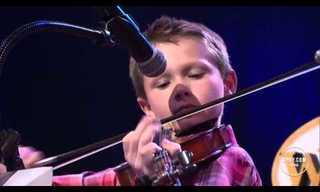 ¡El Talentoso Violinista De 10 Años!