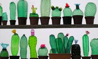 El Arte De Las Botellas Plásticas...