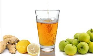 """Esta Bebida """"Detox"""" De 4 Ingredientes Te Limpiará Por Completo"""