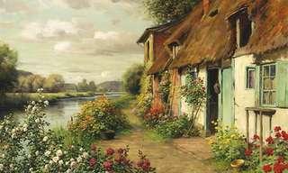 Hermosas Pinturas De Los Campos Franceses