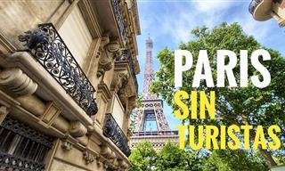 ¡Sorprendente! París Se Queda Sin Turistas y Así Luce Hoy
