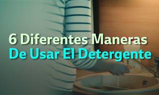 Los Más Increíbles 6 Usos Del Detergente