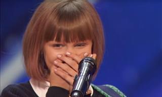 Una Joven De 12 Años Arrasa En Televisión Con Su Propia Canción