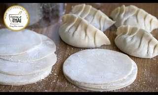 Aprende a Preparar La Masa de Las Empanaditas Chinas o Gyoza
