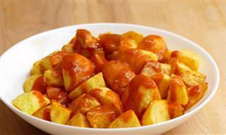 Receta: Picantes y Deliciosas Patatas Bravas