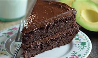 Cómo Preparar Un Sano Pastel De Chocolate Con Aguacate