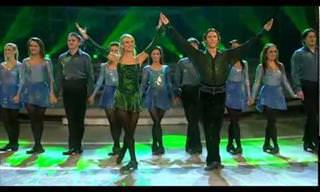 ¡Este Baile Irlandés Es Espectacular! ¡Que Movimientos!