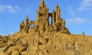 Hermosa Galería De Los Más Increíbles Castillos De Arena