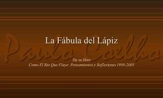 La Conmovedora Historia Del Lápiz...