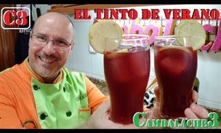 """""""El Tinto De Verano"""" Bebida Del Verano Española"""
