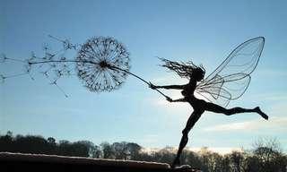 Las Mágicas Esculturas De Robin Wight