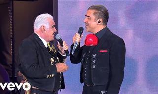 Vicente y Alejandro Fernández a Dueto En Vivo