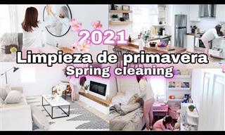 Motívate a Limpiar y Refrescar tu Casa En Primavera