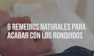 Dile Adiós a Los Ronquidos Con Estos Remedios Naturales